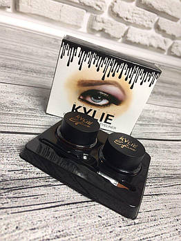 Гель-краска для бровей | Современная мода не устНабор подводок для глаз Kylie Jenner Double Color Gel Eyeliner