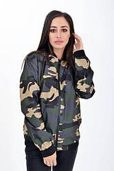 Куртка женская 147V001-29 цвет Горчично-зеленый