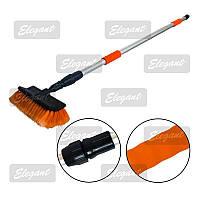 Щетка для мытья с телескопической ручкой Elegant 148-250 см EL 100133
