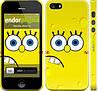 """Чехол на iPhone 5s Губка Боб """"197c-21"""""""
