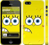 """Чохол на iPhone 5s Губка Боб """"197c-21"""""""