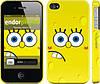 """Чехол на iPhone 4s Губка Боб """"197c-12"""""""