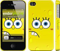 """Чехол на iPhone 4 Губка Боб """"197c-15"""""""