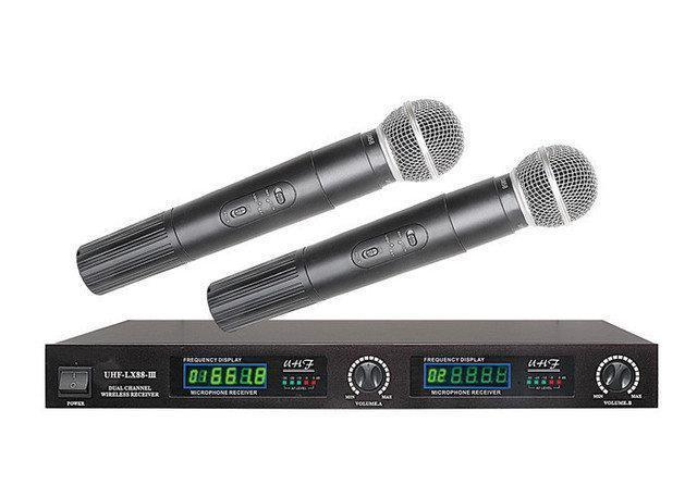 Беспроводной микрофон с усилителем Shure LX-88