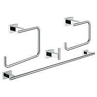 Набор аксессуаров для ванны Master 4 в 1 Grohe Essentials Cube 40778001