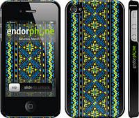 """Чехол на iPhone 4 Вышиванка 39 """"1173c-15"""""""