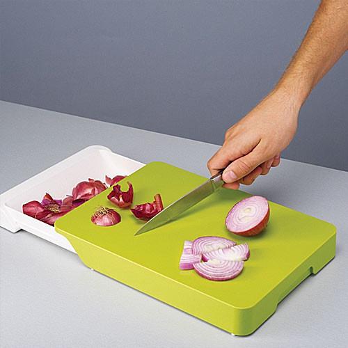 Доска для нарезки кухонная Cut & Collect с ящиком