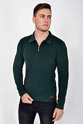 Кофта мужская 116R001 цвет Темно-зеленый