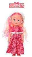 A TONGDE  Кукла 170996  в розовом платье для девочки  на батарейках