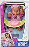 Куколка пупсик в стульчике WZJ 017-1 с одеждой розового цвета, фото 2
