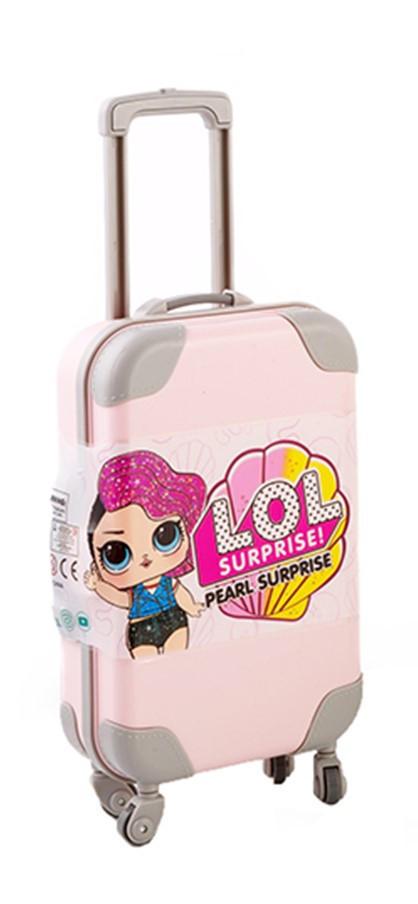 """Кукла ЛОЛ в розовом чемодане  Glitter"""" 14 см с аксессуарами"""