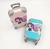 """Лялька ЛОЛ в рожевому валізі Glitter"""" 14 см, з аксесуарами, фото 3"""