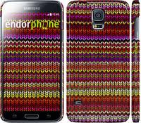 "Чехол на Samsung Galaxy S5 g900h вязаный ""1798c-24"""