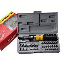 Набор инструментов в чемоданчике AIWA 41-Piece bit and Socket Set