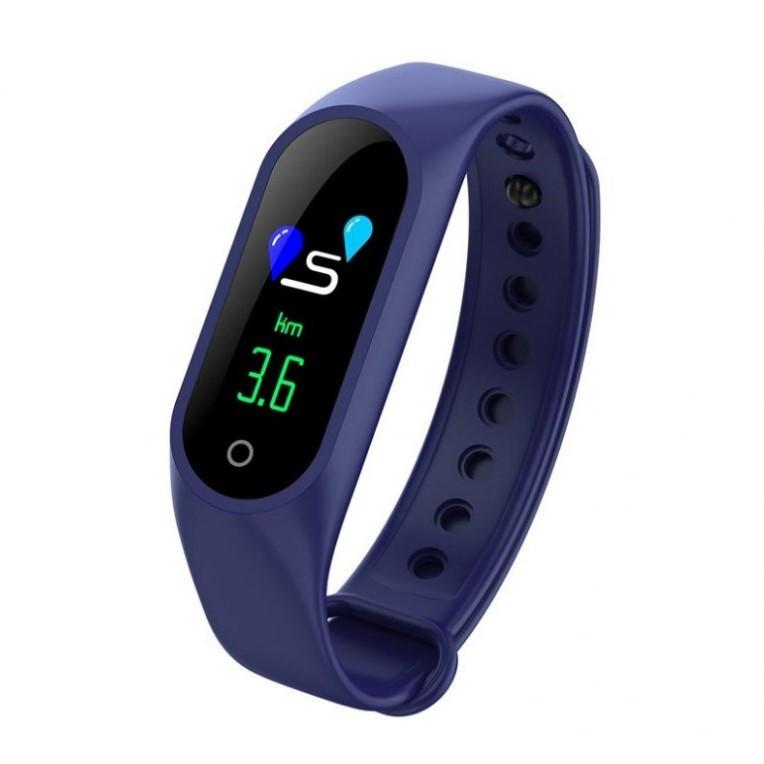 Умные фитнес часы M3 синий