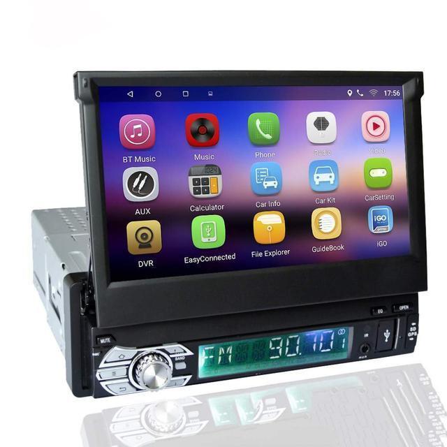 Магнитола автомобильная 1DIN DVD-9505/9506 Android GPS