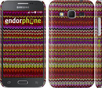 "Чехол на Samsung Galaxy Core Prime G360H вязаный ""1798c-76"""