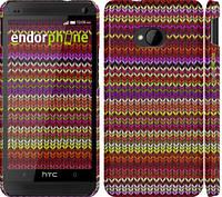 "Чехол на HTC One M7 вязаный ""1798c-36"""