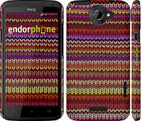 "Чехол на HTC One X вязаный ""1798c-42"""