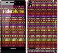 "Чехол на Huawei Ascend P6 вязаный ""1798c-39"""