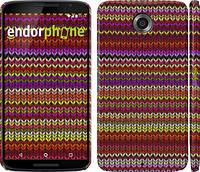 """Чехол на Motorola Nexus 6 вязаный """"1798c-67"""""""
