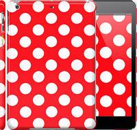 """Чехол на iPad 5 (Air) Красный горошек """"2909c-26"""""""