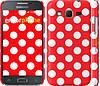 """Чехол на Samsung Galaxy Core Prime G360H Красный горошек """"2909c-76"""""""