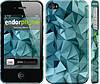 """Чехол на iPhone 4 Геометрический узор v2 """"2693c-15"""""""