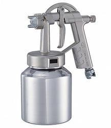 Краскопульт профессиональный G3 металл бачок 1000 мл дюза-1 мм ANI Spa AH0800328 (Италия)