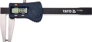 Штангенциркуль электронный для тормозных дисков 180 мм YATO YT-72093 (Польша)