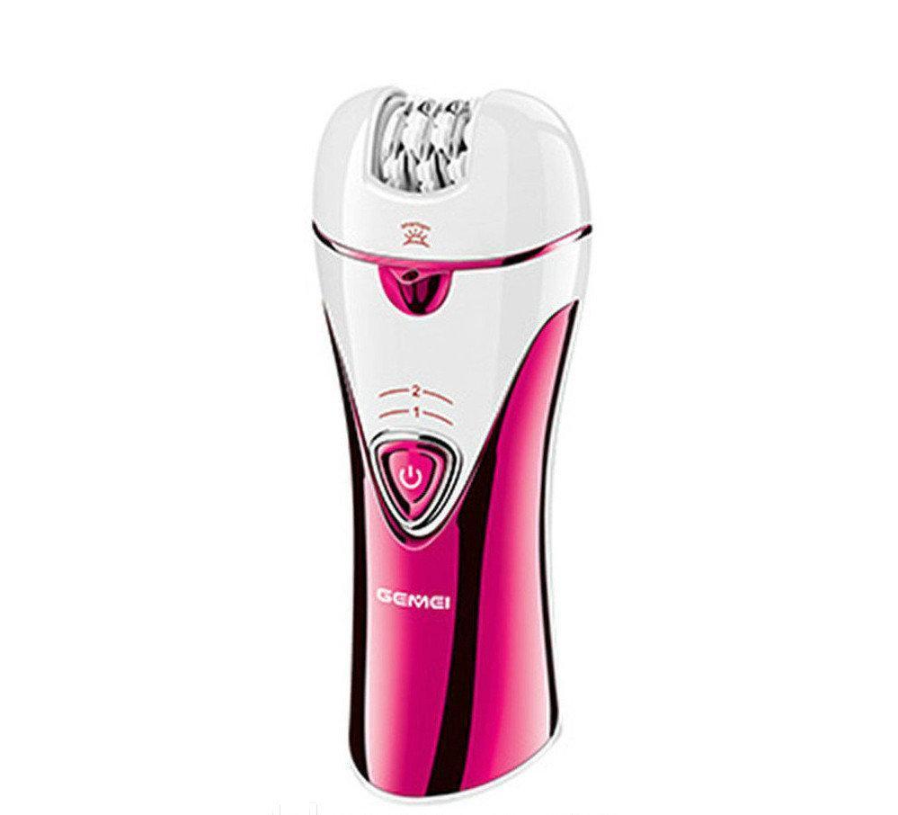 Жіноча електробритва Gemei GM-7002 3 в 1 рожевий