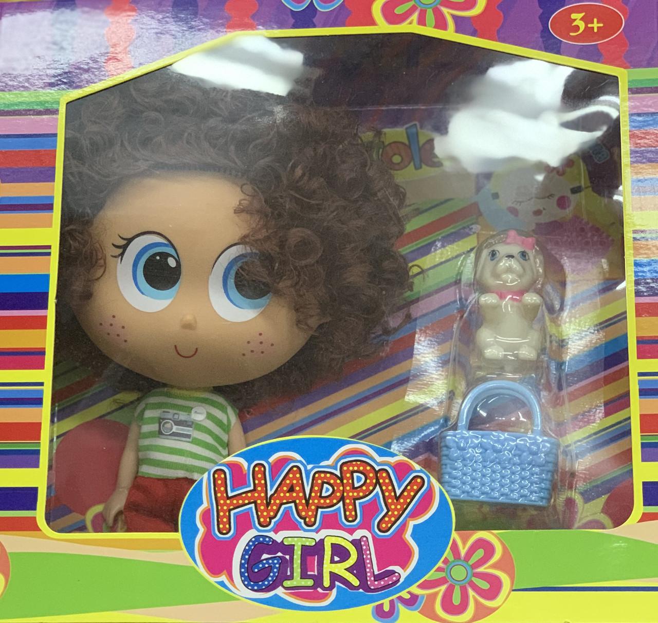 Куколки Happy Girl (несколько видов) с аксессуарами