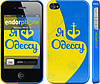 "Чехол на iPhone 4s Я люблю Одессу v2 ""1152c-12"""