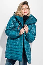 Куртка женская 111R004 цвет Лазурный