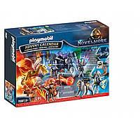 Playmobil 70187 Advent Calendar  Плеймобил  Битва за волшебный камень Адвент