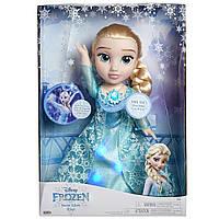 Поющая кукла Эльза Холодное сердце Disney Frozen Snow Glow Elsa