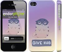 "Чехол на iPhone 4 Give Hug ""2695c-15"""