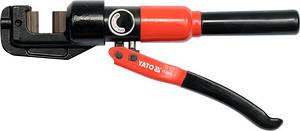 Ножницы гидравлические для проволоки Ø=4-12 мм YATO YT-22870 (Польша)