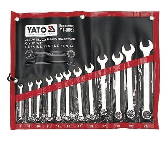 Набор ключей комбинированных 12 шт. YATO YT-0062 (Польша)