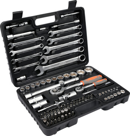Набор инструментов 82 предмета STHOR 58689 (Польша)