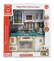 Кухня 3022  свет/Музыкальная  , мебель, посуда, в кор.26*10,5*29,5см