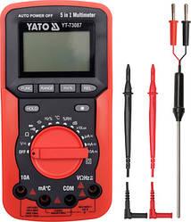Мультиметр цифровой YATO YT-73087 (Польша)