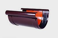 Соединитель желоба водосточный ø90 мм. ПВХ PROFiL Польша, фото 1