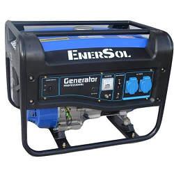 Бензиновый однофазный генератор мощностью 3 кВА EnerSol SG-3(B)
