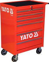 Тележка инструментальная с 6 ящиками YATO YT-0913 (Польша)