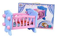 Ліжечко для ляльки, арт. 4166, ТехноК