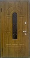 """Входная дверь для улицы """"Портала"""" ― модель Элегант-2 (Ковка и стекло)"""