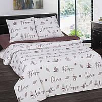 Комплект постельного белья Мокко, поплин (Полуторный)