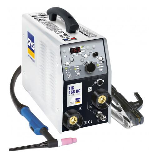 Сварочный инвертор TIG 168 DC HF, ACC. SR17DB-4M GYS 011410 (Франция)
