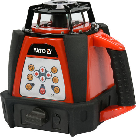 Нівелір лазерний ротаційний стяжка YATO YT-30430 (Польща)